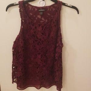 Express blouse/ dressy tank- size M